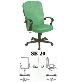 jual Kursi kantor Subaru SB 20