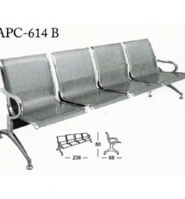 jual Kursi Tunggu Kantor Subaru APC 614 B