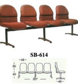 jual Kursi Tunggu Kantor Subaru SB 614