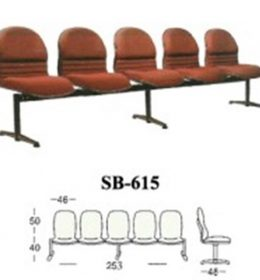 jual Kursi tunggu kantor Subaru SB 615