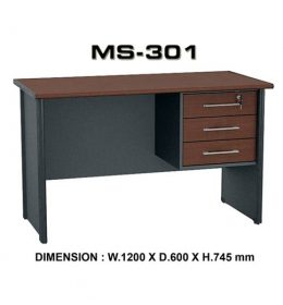 Jual Meja Kantor VIP MS 301