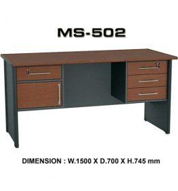 Jual Meja Kantor VIP MS 502