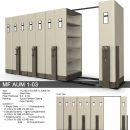 jual Mobile File Alba Mekanik MF AUM 1-03 B ( 40 Compartments )