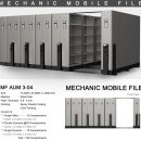 jual Mobile File Alba Mekanik MF AUM 3-04 B ( 150 Compartments )
