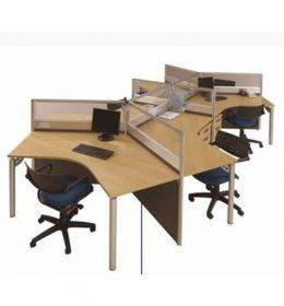 Jual Partisi Kantor Modera 3.1 WS 6 Staff