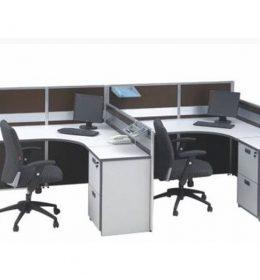 Jual Partisi Kantor Modera 3.2 WS 2 Staff