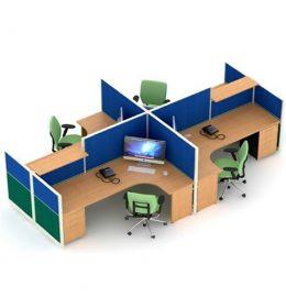 jual Partisi Kantor Uno Premium 9