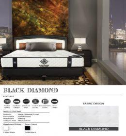 jual Springbed Central BLACK DIAMOND surabaya
