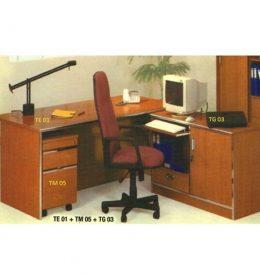 Jual Meja Kantor Aditech TE 01