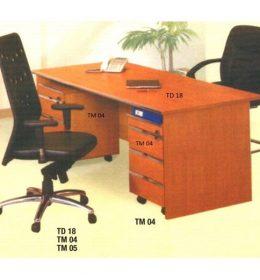 Jual Meja Kantor Aditech TD 18