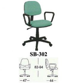 jual Kursi kantor Subaru SB 302