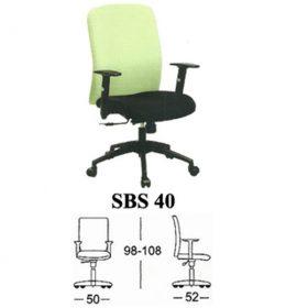 jual Kursi kantor Subaru SBS 40