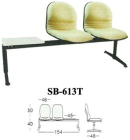 jual Kursi Tunggu Kantor Subaru SB 613 T