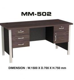 Jual Meja Kantor VIP MM 502