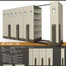 jual Mobile File Alba Mekanik MF Aum 1-03 C ( 40 Compartments )