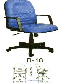 Jual Kursi Kantor Polaris B 48