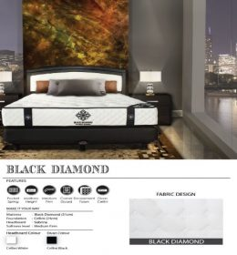 jual Springbed Central BLACK DIAMOND surabaya